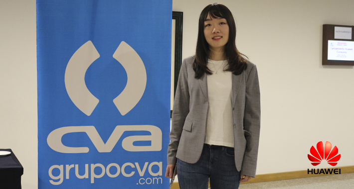 Grupo CVA muestra a canal capitalino novedades de Huawei