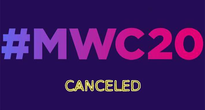 Mobile World Congress 2020 se cancela oficialmente, a causa del coronavirus