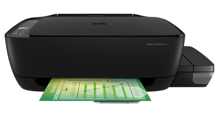 Impresión sin límites con base en tanque de tinta