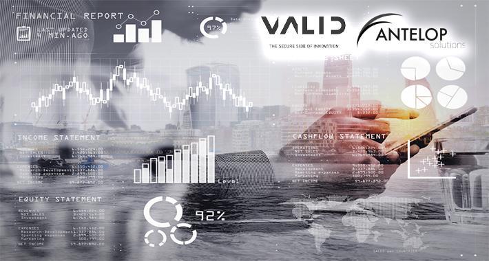 Valid y Antelop Solutions anuncian cartera conjunta de soluciones de pago