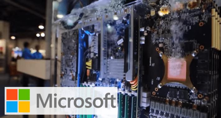 Microsoft le copia técnica  a mineros de criptomonedas