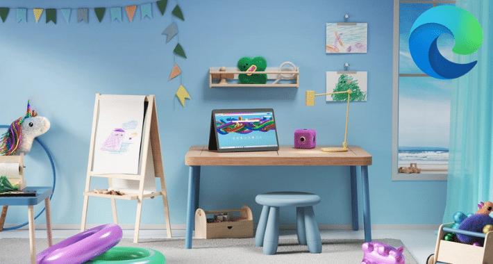 "Microsoft Edge lanza ""Modo Niños"""